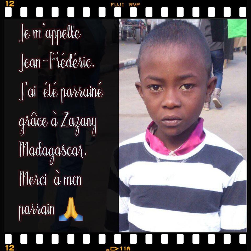 Jean Frédéric - Zazany Madagascar