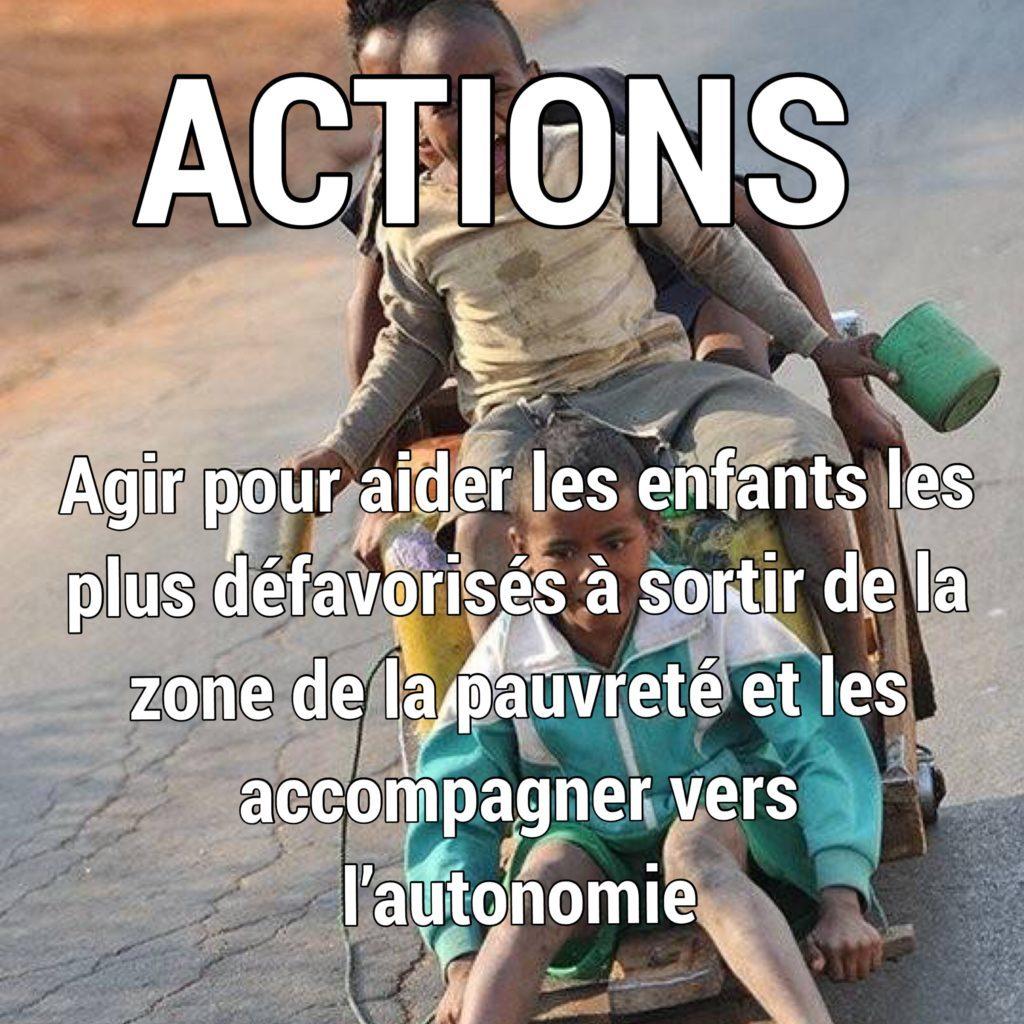 Actions de Zazany Madagascar