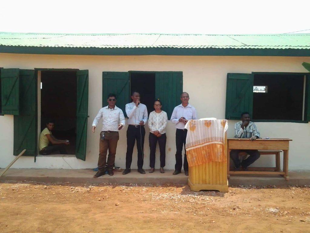 Inauguration de l'EPP Ankadimanga
