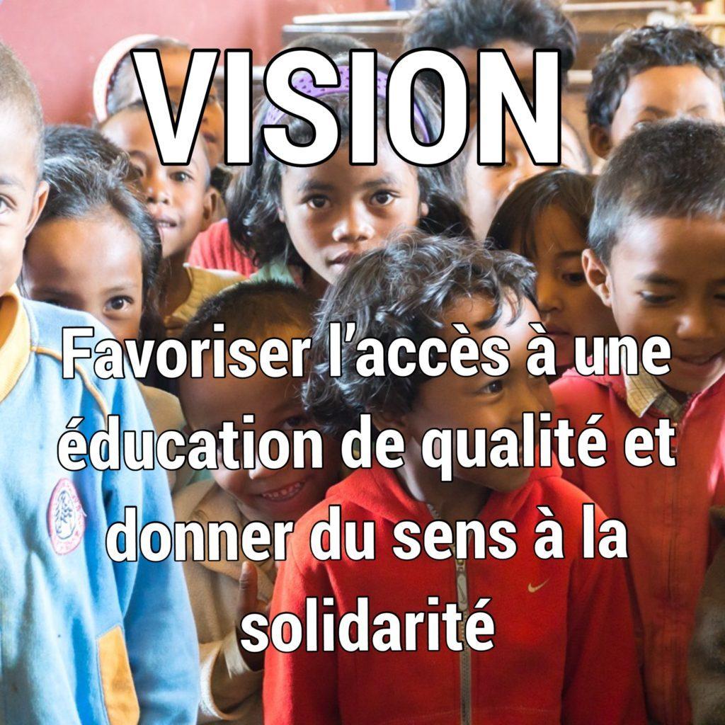 Vision de Zazany Madagascar
