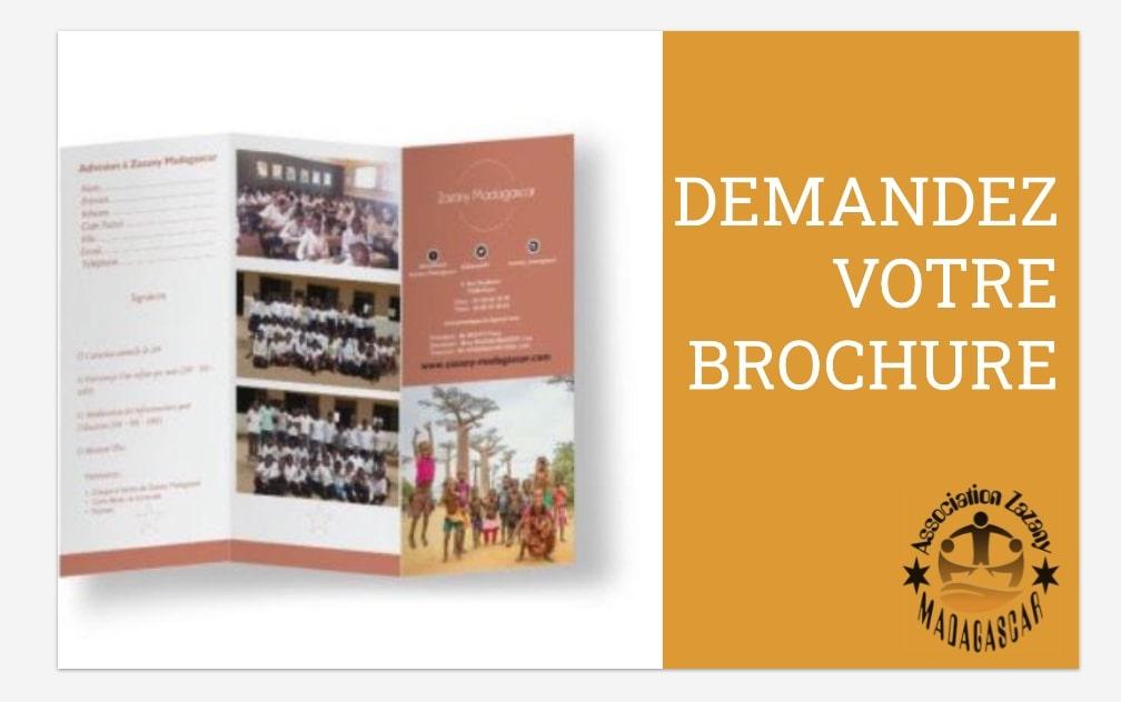 Brochure gratuite Zazany Madagascar