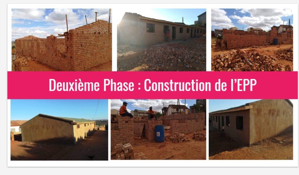 Construction EPP Ankadimanga