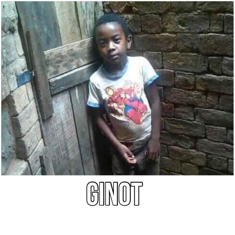 Ginot - Enfant à parrainer Madagascar