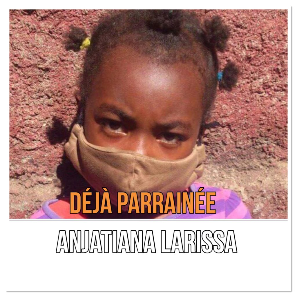 Enfant parrainé malgache