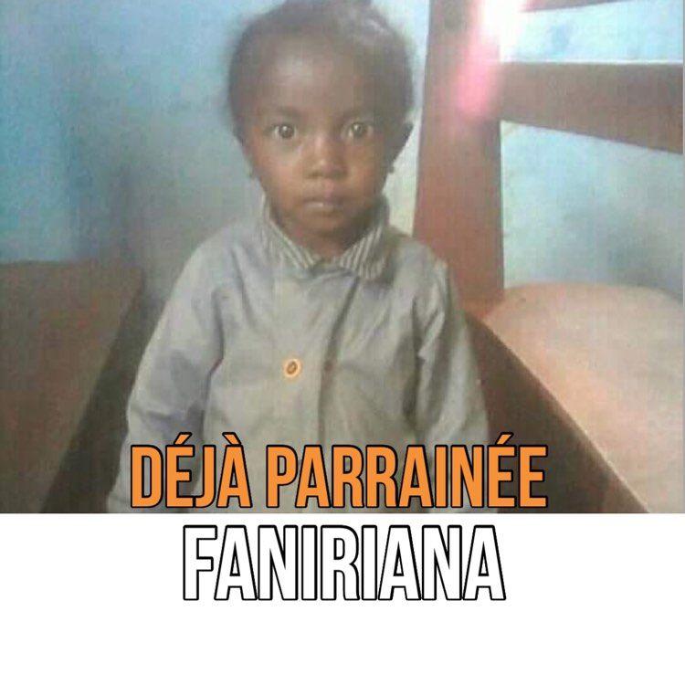 Faniriana Parrainée avec Zazany Madagascar