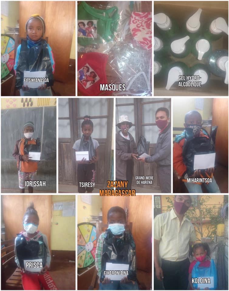 Dons de parrainage - Zazany Madagascar