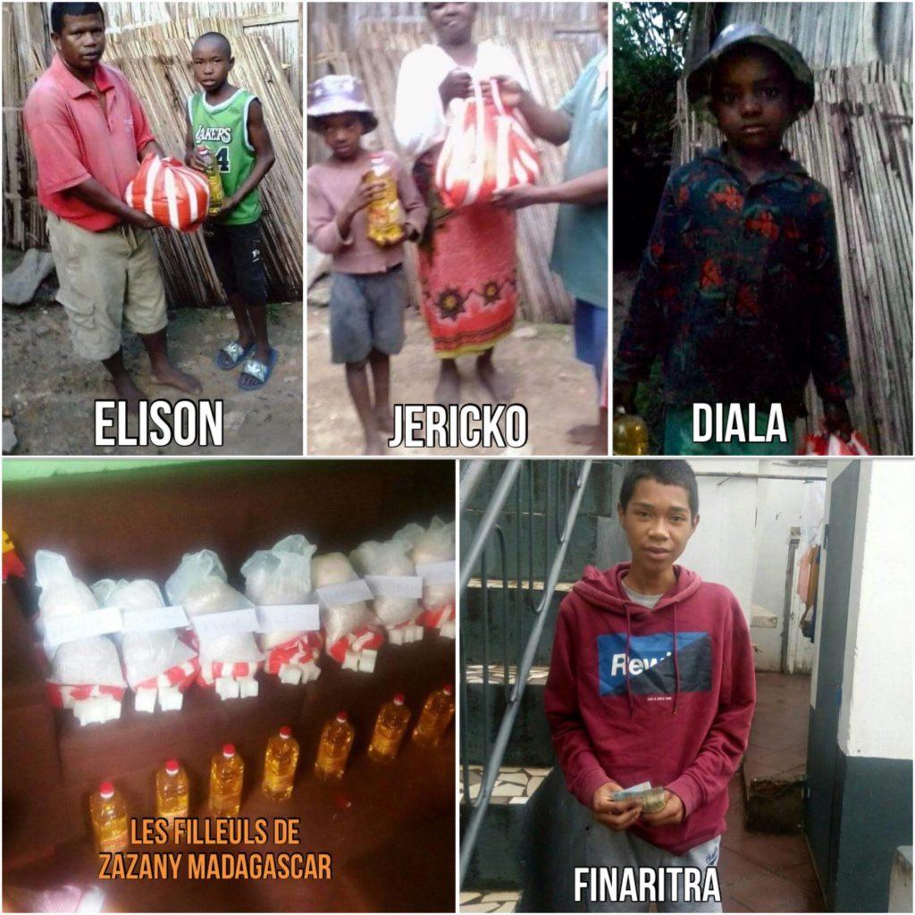 Dons de parrainage Madagascar