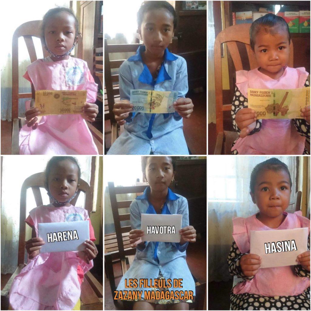 Dons de parrainage - Madagascar