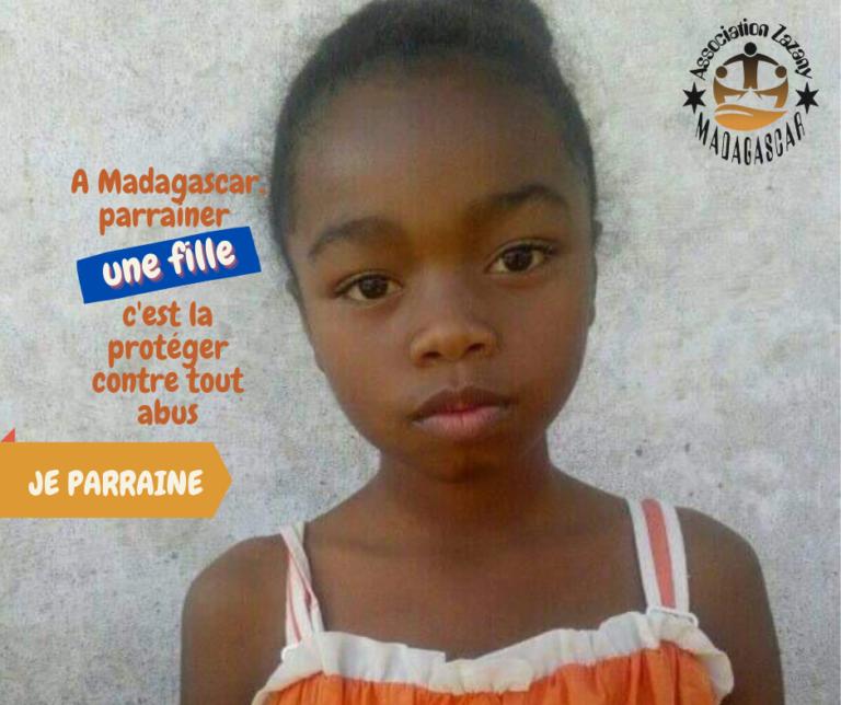 Parrainer une fille avec Zazany Madagascar