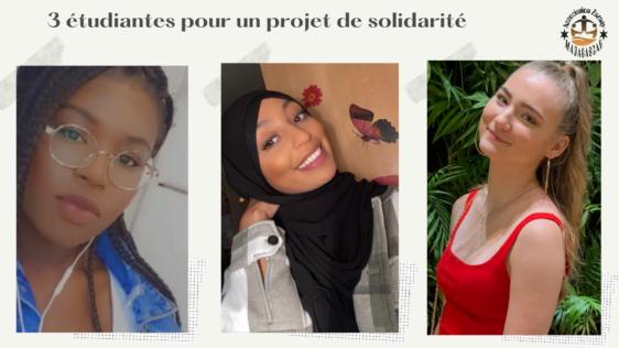 Etudiantes pour projet de solidarité à Ambalatenina
